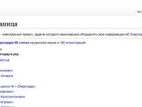У Энергодара появилась собственная википедия