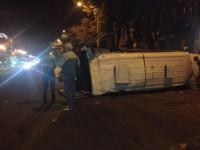 В результате ДТП с маршруткой пострадали 12 человек