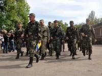 Запорожский батальон отметит первый День рождения  в центре города