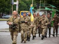 Запорожский батальон снова вернулся в зону  АТО