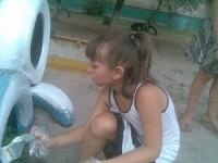 В Мелитополе дети сами оборудовали для себя площадку