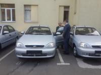 Городской голова передал милиции новые автомобили