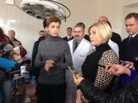 В запорожский военный госпиталь приедет жена Президента