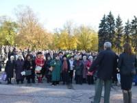 В Запорожье пенсионеры отпраздновали День рождения комсомола