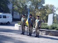 В Запорожье накануне Дня защитника почтили память погибших воинов АТО