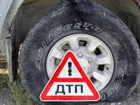 В Запорожской области у маршрутки на ходу лопнуло колесо