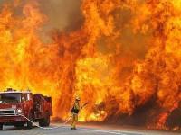 Запорожье в огне: Страшный пожар унес жизнь человека