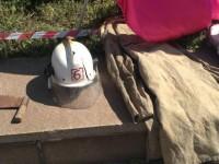 В Запорожье спасатели вышли на митинг под управление ГСЧС