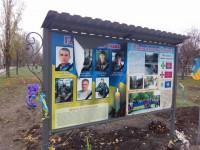 В Энергодаре повредили памятный знак героям АТО