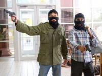В Запорожской области со стрельбой пытались ограбить банк