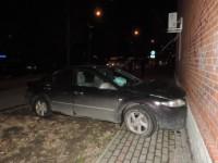 В Запорожской области водитель «Мазды» влетела в здание пенсионного фонда