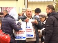 В Бердянске избирателей подкупают водкой и сладкой ватой
