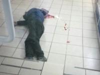 Смерть мужчины в запорожском супермаркете полиция классифицирует как умышленное убийство