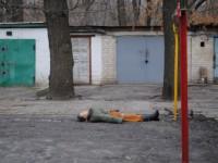 В Запорожской области женщина повесилась во дворе многоэтажки
