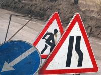 В Запорожской области перекрыли участок дороги