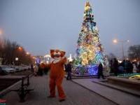 В центре Запорожья будут работать три новогодних городка