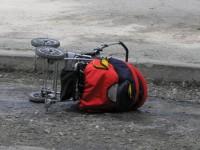 В Запорожье водитель сбил коляску с ребенком и скрылся