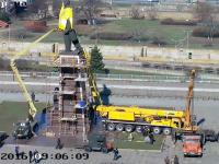 Возле памятника Ленину пройдет три пикета
