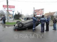 В Запорожской области ВАЗ протаранил маршрутку с пассажирами (ФОТО)
