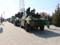 К запорожской атомке подогнали военную технику (ФОТО)