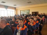 Запорожский губернатор посетил бастующий завод