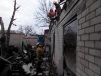 Фото: Десяток пожарных тушили пожар