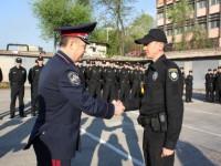 В Запорожье патрульные получили первые награды