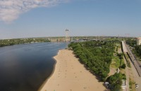 На Набережной Запорожья создадут ландшафтный парк