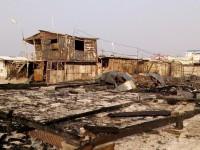 В Кирилловке сгорели МАФы — есть пострадавшие