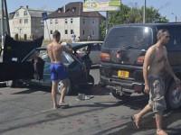 На запорожском курорте автомобиль с военными попал в ДТП — есть пострадавшие