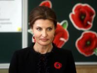 На 1 сентября Марина Порошенко посетит сразу две запорожские школы