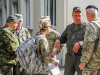 В Запорожье американские военные испытывали оружие