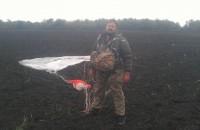 Запорожский депутат посвятил прыжок с парашютом (Фото)