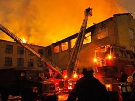 ВЗапорожье назаводе произошел масштабный пожар