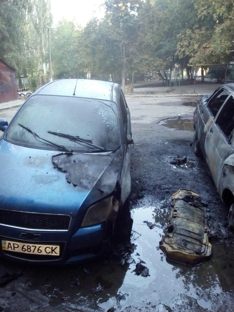 Ущерб авто нанесенный неизвестным лицом секунду