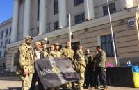 В Запорожье ветераны АТО пообещали установить под мэрией палатки