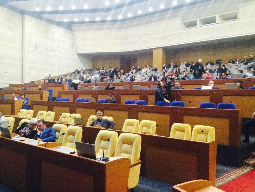 ВЗапорожье народные избранники областного совета признали РФ - страной -агрессором
