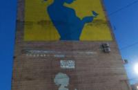В центре Запорожья нарисовали огромный мурал с изображением украинской певицы