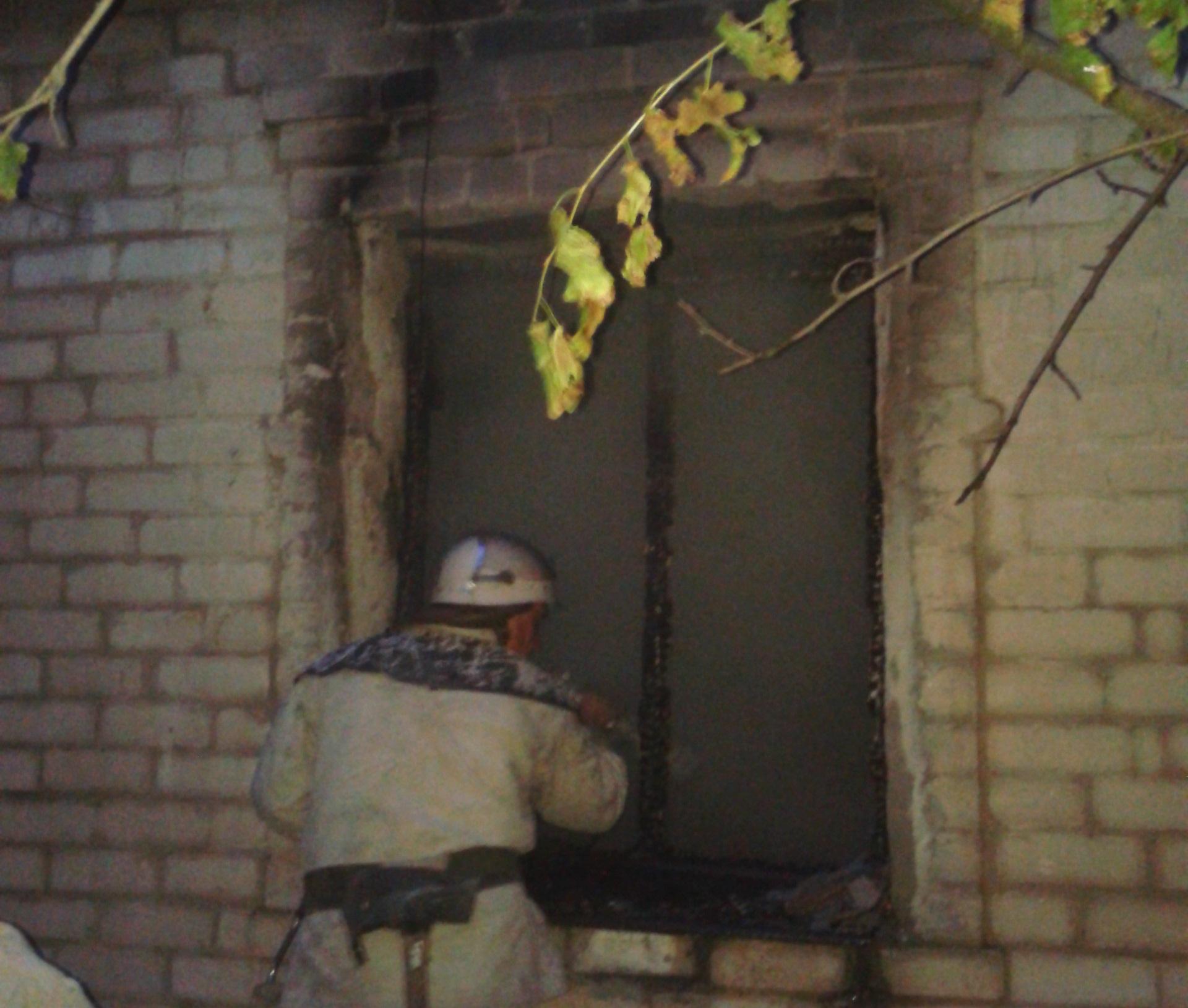ВЗапорожской обл. врезультате пожара погибли хозяин дома иего сын