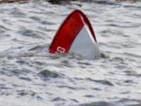 В акватории Каховского водохранилища на лодке перевернулись рыбаки