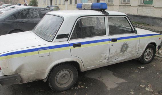 ВЗапорожье патрульные гонялись за нетрезвым водителем ВАЗ