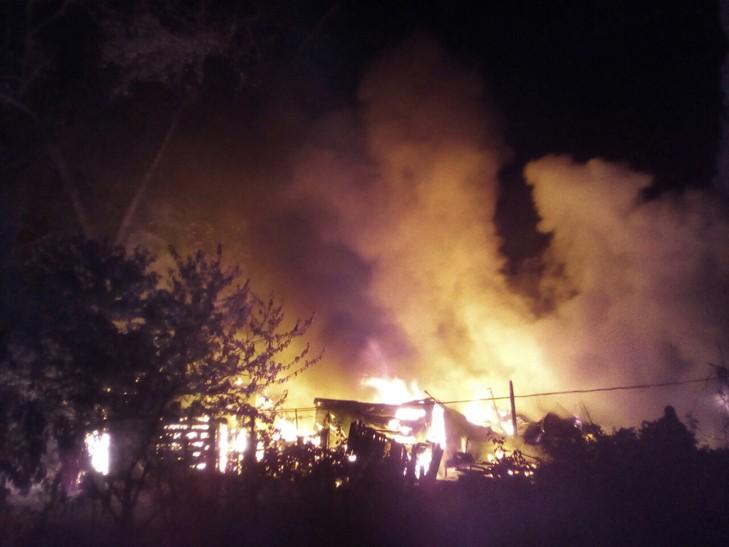 ВЗапорожье наХортице произошел масштабный пожар