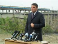 Премьер-министр поздравил энергетиков фотографией Запорожья