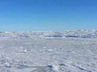 Бердянец заснял обледеневшее Азовское море с высоты птичьего полета (видео)