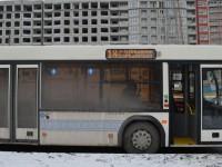 В Запорожье на новый маршрут вышли 100-местные автобусы (Фото)
