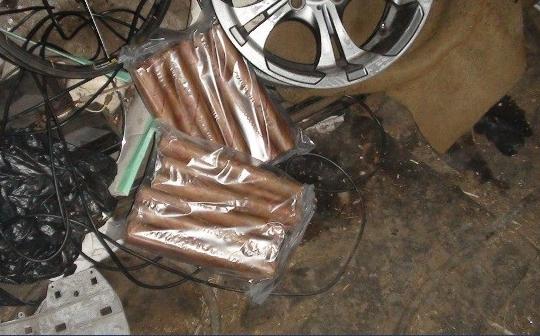 ВЗапорожской области СБУ разыскала украденную взрывчатку