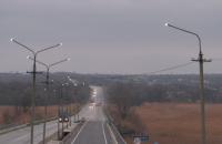 На запорожской трассе установили новое светодиодное освещение