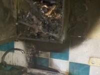 В Запорожской области сгорела частная стоматология (фото)