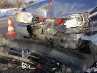 В Запорожской области пьяный водитель устроил аварию на блокпосту (Фото)