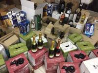 В центре Запорожья в подвале разливали алкоголь